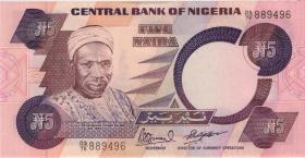 Nigeria P.24e 5 Naira (o.J.) (1)
