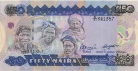 Nigeria P.027c 50 Naira (o.J.) (1)