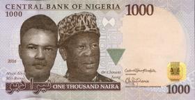 Nigeria P.36i 1000 Naira 2016 (1)