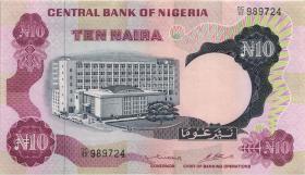 Nigeria P.17c 10 Naira (1973-78) (2+)