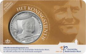 Niederlande 10 Euro 2013 König Willem Alexander Coincard