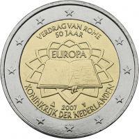 Niederlande 2 Euro 2007 Römische Verträge