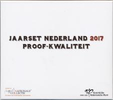 """Niederlande Euro-KMS 2017 """"Amsterdam"""" Schatulle PP"""