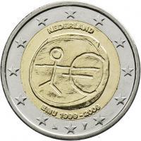 Niederlande 2 Euro 2009 WWU