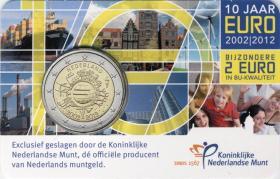 Niederlande 2 Euro 2012 Euro-Bargeld in Coincard