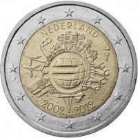Niederlande 2 Euro 2012 Euro-Bargeld