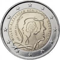 Niederlande 2 Euro 2013 200 Jahre Königreich