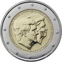 Niederlande 2 Euro 2014 Doppelporträt - Thronbesteigung
