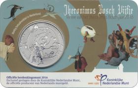 Niederlande 5 Euro 2016 Hieronymus Bosch