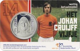 Niederlande 5 Euro 2017 Johan Cruijff