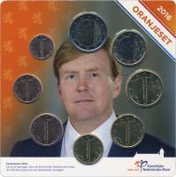 "Niederlande Euro-KMS 2016 ""Oranjeset"" Blister"