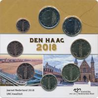"""Niederlande Euro-KMS 2018 """"Den Haag"""" Blister"""