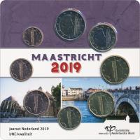 "Niederlande Euro-KMS 2019 ""Maastricht"" Blister"
