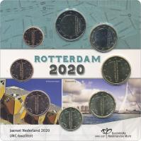 "Niederlande Euro-KMS 2020 ""Rotterdam"" Blister"