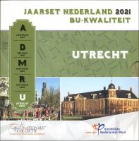 "Niederlande Euro-KMS 2021 ""Utrecht"" Folder"