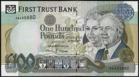 Nordirland / Northern Ireland, First Trust Bank P.139b 100 Pounds 1998 (1)