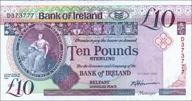 Nordirland / Northern Ireland P.071a 10 Pounds 1991 (1)