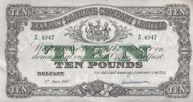 Nordirland / Northern Ireland P.128c 10 Pounds 1965 (1/1-)