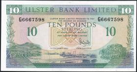 Nordirland / Northern Ireland P.332 10 Pounds 1990 (1/1-)
