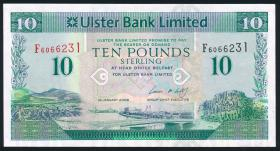 Nordirland / Northern Ireland P.341a 10 Pounds 2008 (1)