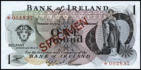 Nordirland / Northern Ireland P.061bs 1 Pound (1972-77) (1)