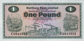Nordirland / Northern Ireland P.187c 1 Pound 1978 (1)