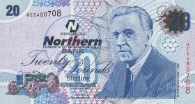 Nordirland / Northern Ireland P.207a 20 Pounds 2005 (1)