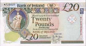 Nordirland / Northern Ireland P.076a 20 Pounds 1995 (1)