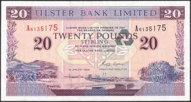 Nordirland / Northern Ireland P.337a 20 Pounds 1996 (1)