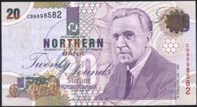 Nordirland / Northern Ireland P.199b 20 Pounds 1999 (3+)