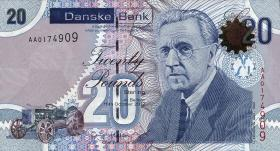 Nordirland / Northern Ireland P.213 20 Pounds 2013 Danske Bank(1)