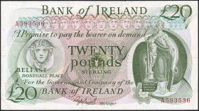 Nordirland / Northern Ireland P.067Aa 20 Pounds Sterling o.D. (3+)