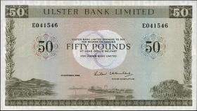 Nordirland / Northern Ireland P.329 50 Pounds 1982 (1)