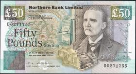 Nordirland / Northern Ireland P.196 50 Pounds 1996 (1/1-)