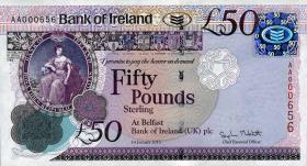 Nordirland / Northern Ireland P.089 50 Pounds 2013 Bank of Ireland (1)