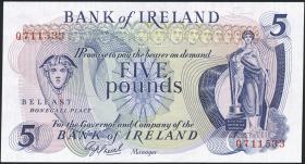 Nordirland / Northern Ireland P.062b 5 Pounds (1977) (1)