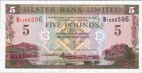 Nordirland / Northern Ireland P.335b 5 Pounds 1998 (1)