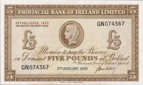 Nordirland / Northern Ireland P.246 5 Pounds 1970 (1)