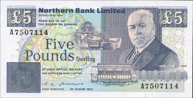 Nordirland / Northern Ireland P.193b 5 Pounds 1990 (1)