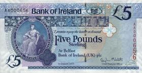 Nordirland / Northern Ireland P.086 5 Pounds 2013 Bank of Ireland (1)