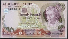 Nordirland / Northern Ireland P.008c 20 Pounds 1990 (1)