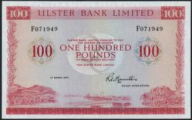Nordirland / Northern Ireland P.330a 100 Pounds 1977 (1/1-)