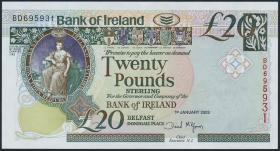 Nordirland / Northern Ireland P.080b 20 Pounds 2003 (1)