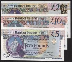 Nordirland / Northern Ireland P.083-085 5-20 Pounds 2008 Bank of Ireland (1)