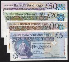 Nordirland / Northern Ireland P.086-089 5-50 Pounds 2013 Bank of Ireland (1)