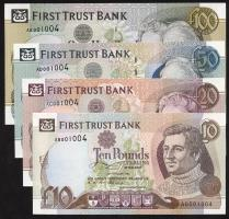 Nordirland / Northern Ireland P.132-135a 10-100 Pounds 1994 First Trust Bank (1)
