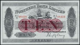 Nordirland / Northern Ireland P.181c 10 Pound 1943 (1/1-)
