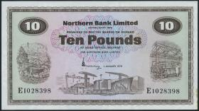 Nordirland / Northern Ireland P.189b 10 Pounds 1978 (1)