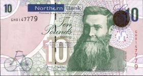 Nordirland / Northern Ireland P.210b 10 Pounds 2011 (1)