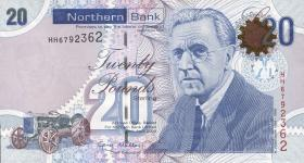 Nordirland / Northern Ireland P.211a 20 Pounds 2009 Northern Bank (1)